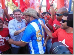 Lindberg e a força da onda vermelha caminham em Maricá com Zeidan para Deputada Estadual e Fabiano  para Deputado Federal (fotos Rosely Pellegrino) (147)