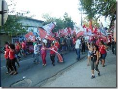 Lindberg e a força da onda vermelha caminham em Maricá com Zeidan para Deputada Estadual e Fabiano  para Deputado Federal (fotos Rosely Pellegrino) (211)