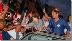 Dilma ao lado de Lindberg faz campanha em São Gonçalo 12.09 (3)