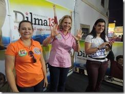 A força da mulher. Sylvia Jane Crivella, esposa de Crivella, também participou do evento em Maricá RJ