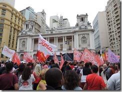 Ato Somos Coração Valente 22.10.2014,  militância lotou Candelária #Dilma 13  (38)
