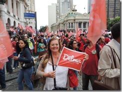Ato Somos Coração Valente 22.10.2014,  militância lotou Candelária #Dilma 13  (52)