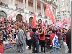 Ato Somos Coração Valente 22.10.2014,  militância lotou Candelária #Dilma 13  (57)
