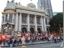 Ato Somos Coração Valente 22.10.2014,  militância lotou Candelária #Dilma 13  (92)