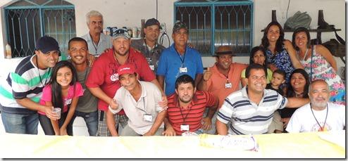 Equipe da Secretaria de Pesca, Aquicultura, Agricultura e Pecuária de Maricá