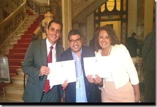 Diplomados - Fabiano Horta Deputado Federal, e Rosangela Zeidan Deputada Estadual