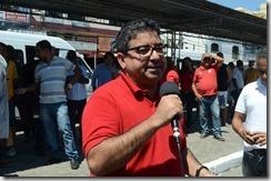 Prefeito de Maricá Washington Quaquá fala sobre Transporte Publico Gratuito de Maricá foto Clarildo Menezes