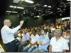 Senador Eduardo Suplicy em visita a Maricá. fotos Rosely Pellegrin 15.12 (116)