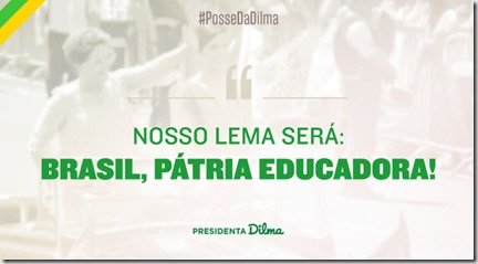 Brasil. Pátria Educadora