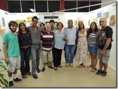 Exposição de Di Bonilho e seus alunos na oficina de pintura do CEU Mumbuca 24.01.2015. foto Rosely Pellegrino (10)