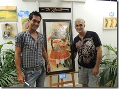 Exposição de Di Bonilho e seus alunos na oficina de pintura do CEU Mumbuca 24.01.2015. foto Rosely Pellegrino (8)