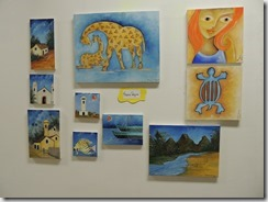 Exposição de Di Bonilho e seus alunos na oficina de pintura do CEU Mumbuca 24.01.2015. foto Rosely Pellegrino (5)