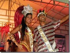Helenn Martins e Cristiano Nascimento.