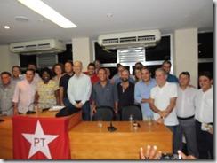 Maricá recebdo o Presidente Nacional do PT Rui Falcão (93)
