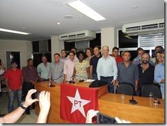 Maricá recebdo o Presidente Nacional do PT Rui Falcão (94)