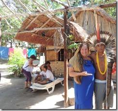 Cacique Tupã e Rosely Pellegrino