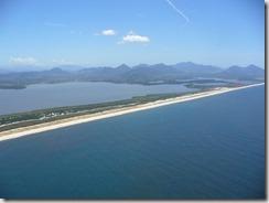Maricá vista aerea, restinga, serras e lagoas