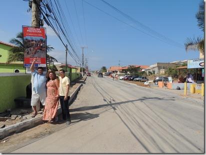 Zeidan faz caminhada e panfletagem em Cordeirinho, para esclarecer sobre as obras da Av. Maysa 20.08 (141)