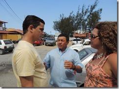 Zeidan faz caminhada e panfletagem em Cordeirinho, para esclarecer sobre as obras da Av. Maysa 20.08 (110)
