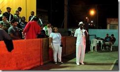 O presidente da G.R.E.S União de Maricá abre oficialmente, os ensaios para o carnaval 2016