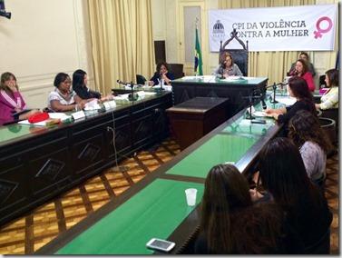 Aprovado relatório final da CPI da Vilência Contra Mulher
