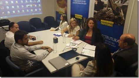 Deputada Rosangela Zeidan se reúne com representantes da CEF