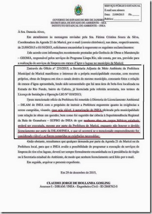 documento do Inea