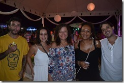 Felipe Benicá, Mariana Caruso, Andrea Cunha, Janine Sousa e Jaime Fernandes