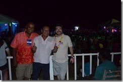 Wavá de Carvalho, Amaury Vicente e Alexandre Rodrigues