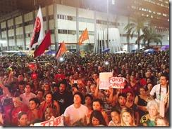 Ato no Largo da Carioca 3