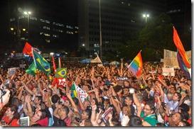 Ato no Largo da Carioca foto Paulo Polonio