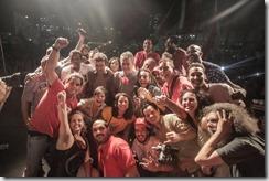 Lurian no ato do Largo da Carioca