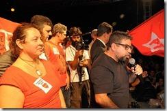 Quaquá fala no ato contra o golpe no Largo da Carioca 31.03.2016
