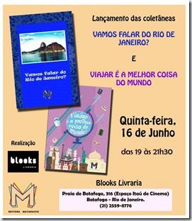 Convite livros RIO Ed Matarazzo