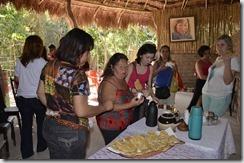Café da manhã na Aldeia da Mata Verde Bonita City Tour de Maricá