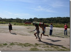 City Tour de Maricá, corrida de tora na Aldeia da Mata Verde Bonita 3
