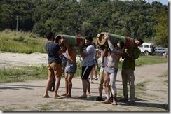 City Tour de Maricá, corrida de tora na Aldeia da Mata Verde Bonita