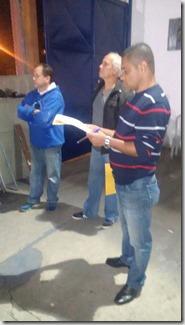 entrega da sinopse do enredo GRES União de Maricá 5