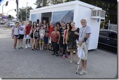Galera participando do primeiro City Tour Conhecendo Maricá