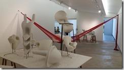 exposição realmente formidável de Tunga na galeria Millan 3