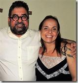 Presidente Estadual do PT RJ Washington Siqueira Quaquá e Lurian Silva Presidente Municipal do PT Maricá