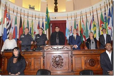 Rosana Horta recebe Moção na Câmara Municipal de Niterói por indicação do Vereador Renato