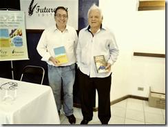 Escritores Dr. Flavio Ulhoa Coelho e o Comendador Arlindo de Souza, participando da Feira Literária de Paraty 2017