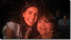 Jovem e promissora escritora Mariana Marques e a empresária paulista Myrian Fagundes